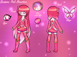 Gemsona: Pink Moonstone by PrincessSkyler