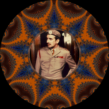 Decorative Plate - Doctor Who - The Brigadier by FlyingMatthew