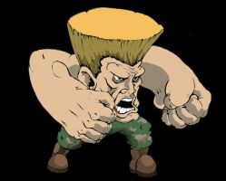 Guile by TheKidIsGreen