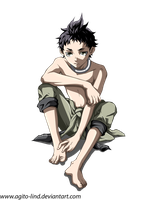 Deadman Wonderland: Ganta by aagito