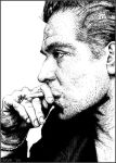 Pointilism Gary Oldman by BikerScout
