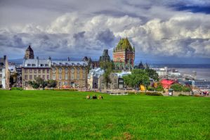 A View of Quebec by mr-lacombe