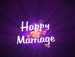 Happy Marriage poster2 by ims-corner
