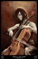 Quartet: Cellist's Requiem by mickyoko