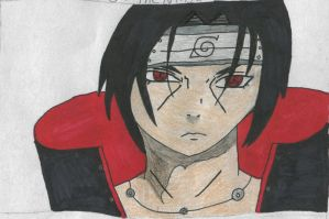 Uchiha Itachi by PlethoraFantastique