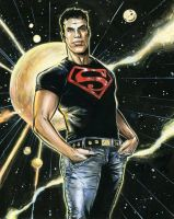 Superboy by funrama