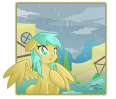 Here comes the rain again by DANMAKUMAN