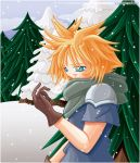 Cloud Wishes You a Merry X-Mas by LynnStrife