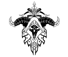 Demon Hunter Crest by ropa-to