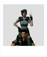 ID -  Jill And Chris by JillValentine98