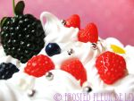 Berry Deco Jar Detail by FrostedFleurdeLis