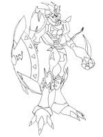 Dukemon Hazard Mode - REQUEST by neoarchangemon