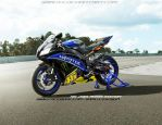 Yamaha R6 2013 Rossi Edition by SAMUXX