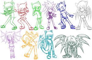WIP: Characters Project by Vio-Light