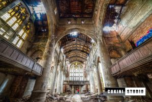 Abandoned Church by CukiniStudio