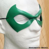 Justice- superhero mask by Alyssa-Ravenwood