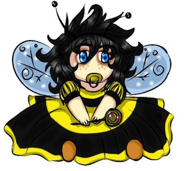 bumble bee Allie by Catsertra