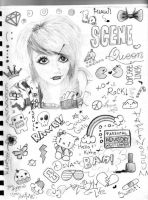 I LOVE IT scene girl by PoOkiePix