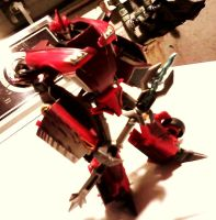 Transformers Prime Knockout Custom: Robot Mode 1 by FaintofHearts33