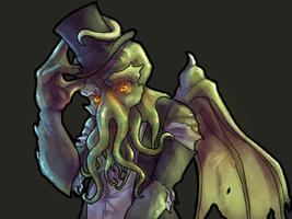 Charming Cthulhu by Tchukart