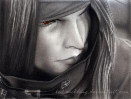 Vincent Valentine by aechling