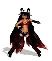 Panda Hero Model by Kasha-Hanyou1