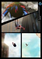 The Amazing Spiderman II Painting Comic by Akrisna