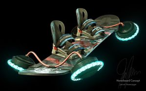 Hoverboard Concept by JarrodHasenjager