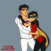New Young Justice by rosey-so-silly