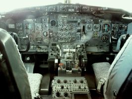 Boeing 737 clockwork cockpit by NinjaPickle