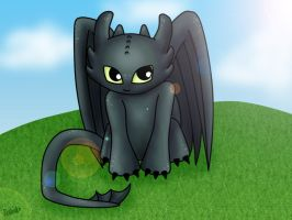 HTTYD -- Toothless by Zelinky