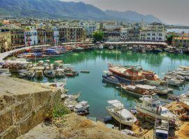 Girne Harbour by fastidea