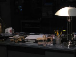 Gill Grissom's Office Pack by SpyHawk-Stock