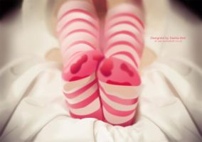 Candy Socks by thesashabell