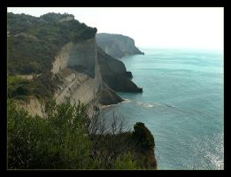 Cliffs Of Corfu by skarzynscy