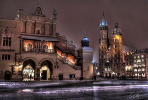 Cracow - Market Square by hired--gun
