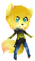 new character by miki-the-fox