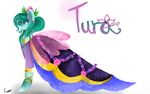 .:Commission:. Tura's Dress by LunarCatherine