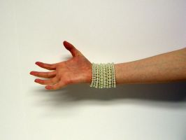 Hand with Pearls Stock9 by NoxieStock