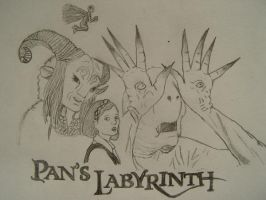 Pans Labyrinth by blood-lillie