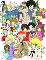 APH Christmas Party by DeadloveCalling
