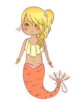 Mermaid Adopt (closed) by CoffeeSugar