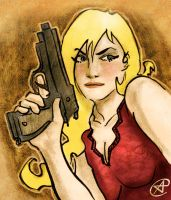 Megan Dietrich from 100 BULLETS by photon-nmo