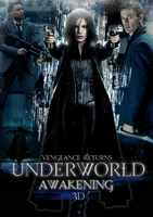 Underworld Awakening Movie Poster by hadyzero