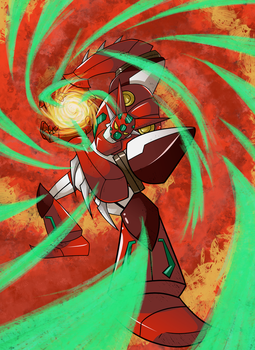 Shin Getter Robo by Gee-Man