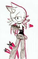 rOuGe by Chat-Mort