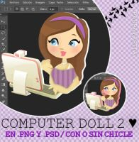 Computer Doll.PSD by Pau-Payasita