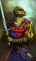 Lizard warrior by Dandzialf