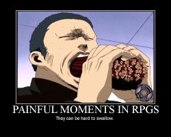 Painful Moments in RPGs by TorkBacklash