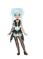 Sailor Turquoise Spider Pixel by Marushi-Dracul